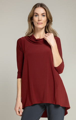 Sympli The Look Tunic - Brick