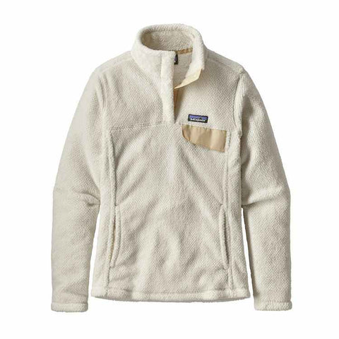 Patagonia Women's Re-Tool Snap-T Fleece Pullover - White