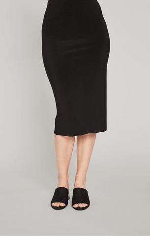 Sympli Tube Skirt - Black