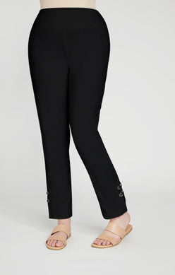 Sympli Halo Narrow Pant - Black