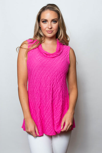 SnoSkins Dream Weaver Sleeveless Top - Rosey