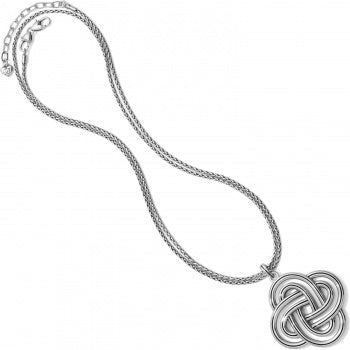 Brighton Statement Convertible Necklace - Silver