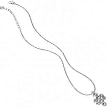 Brighton Endless Knot Necklace - Silver
