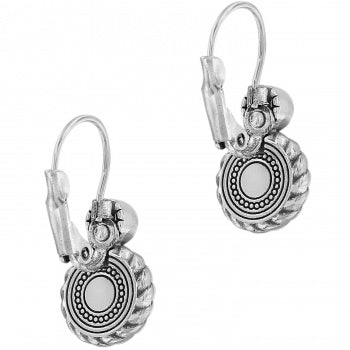Brighton Blue Halo Eclipse Earrings-Blue/Silver