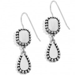 Brighton Twinkle French Wire Earrings-Silver