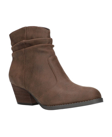 Bella-Vita Helena Bootie - Brown