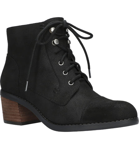Bella-Vita Sarina Lace Up Boot - Black