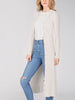 Image of 525 America Wide Rib Duster Cardigan - Chalk