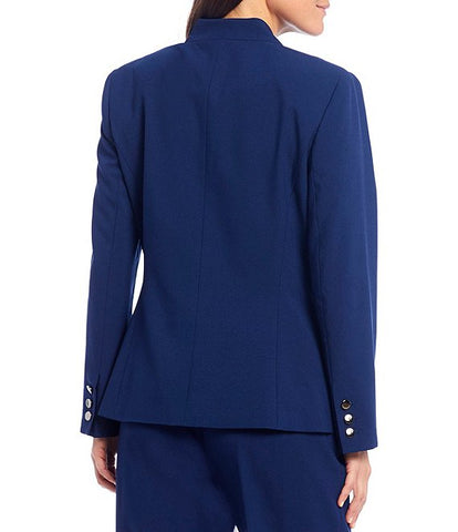 John Meyer Collection Two Piece Pant Suit - Royal