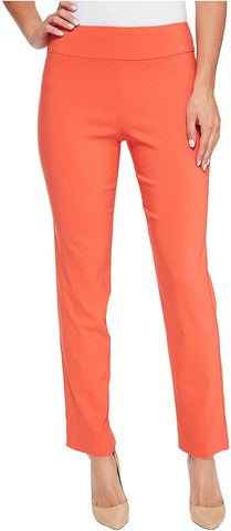 Krazy Larry Pull On Ankle Pant - Tangerine