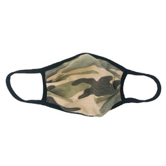 Cloth Fashion Mask Print - Green Camouflage