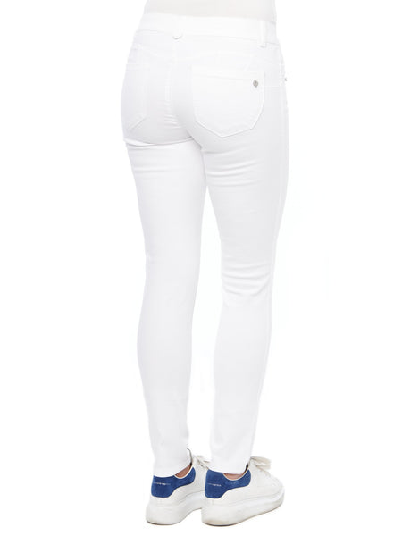 "Democracy ""Ab""solution Booty Lift Jegging - White"