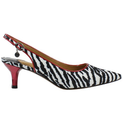 J. Renee Battista Animal Print - Black/White