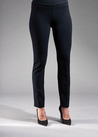 Insight New York Silky Knit Skinny Leg Pant - Navy