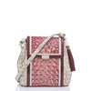 Image of Brahmin Margo Crossbody - Tea Rose Monte Carlo