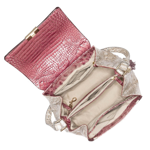 Brahmin Margo Crossbody - Tea Rose Monte Carlo