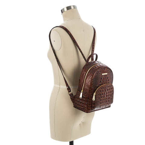 Brahmin Mini Dartmouth Backpack - Pecan Melbourne