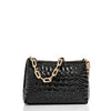 Image of Brahmin Mod Lorelei Shoulder Bag - Black Melbourne