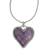 Image of Brighton Collectibles Twinkle Necklace Gift Box - Silver/Purple