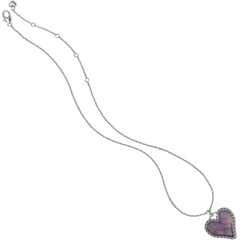 Brighton Collectibles Twinkle Necklace Gift Box - Silver/Purple