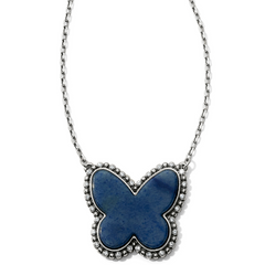 Brighton Collectibles Twinkle Volar Necklace - Silver/Blue