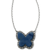 Image of Brighton Collectibles Twinkle Volar Necklace - Silver/Blue