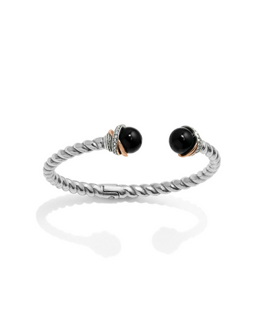 Brighton Collectibles Neptune's Rings Bangle - Silver/Rose Gold
