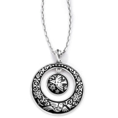 Brighton Collectibles Moonlight Garden Necklace - Silver