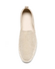 Image of The FLEXX Chappie Espadrille - Gold Leather