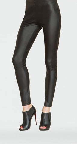 Clara Sunwoo Liquid Leather Legging - Black