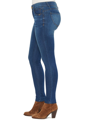"Democracy ""Ab""solution Booty Lift Jegging - Blue"
