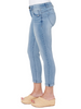 "Image of Democracy ""Ab""solution Ankle Skimmer Jean - Light Blue"