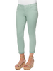 "Image of Democracy ""Ab""solution Ankle Skimmer Jean - Succulent Green"