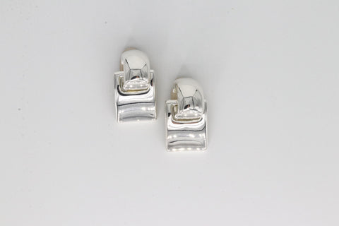 Simon Sebbag Designs - Sterling Silver Drop Clip-On Earring