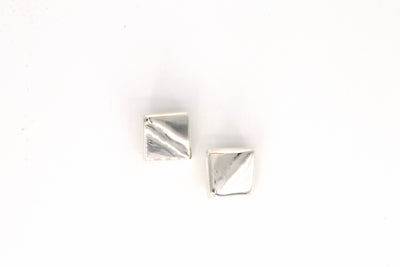 Simon Sebbag Designs - Sterling Silver Block Clip-On Earring
