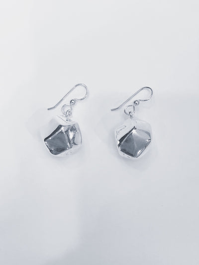 Simon Sebbag Designs - Multi-Faceted Block Dangle Earring