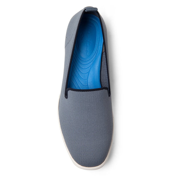 Me Too Eden Yoga Mat Slip On Shoe - Chambray/Navy