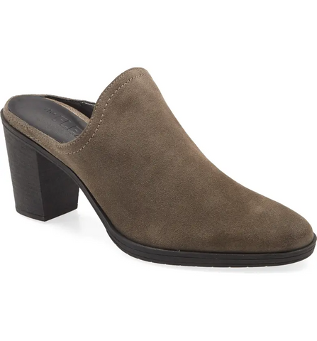 The FLEXX Rock Me Block Heel Mule - Taupe