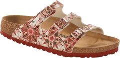 Birkenstock Florida Boho Flowers Earth Red Birko-Flor
