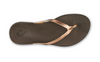 Image of OluKai Ho'ōpio Leather Toe Post Sandal - Copper
