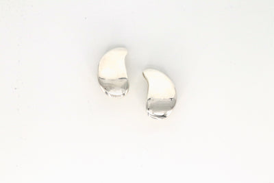 Simon Sebbag Designs - Sterling Silver Teardrop Clip-On Earring