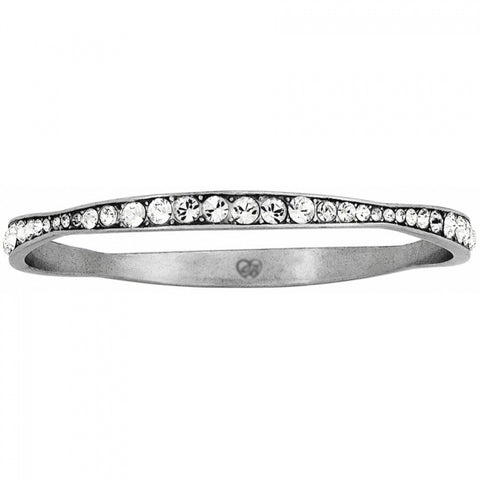 Brighton Collectibles Light Hearted Rhinestone Bangle - Silver
