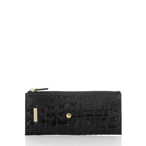Brahmin Credit Card Wallet - Black Melbourne