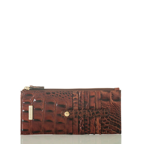 Brahmin Credit Card Wallet - Pecan Melbourne
