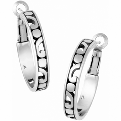 Brighton Collectibles Contempo Small Hoop Earrings - Silver