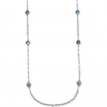 Brighton Elora Gems Sky Long Necklace - Silver