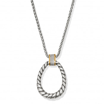 Brighton Meridian Necklace - Silver/Gold