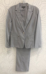 John Meyer Collection Two-Piece Classic Pant Suits - Grey