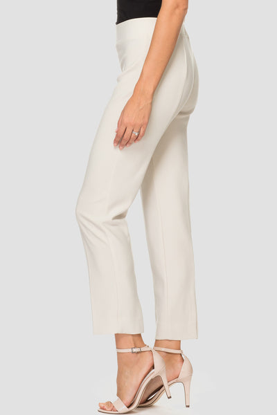 Joseph Ribkoff Silky Knit Ankle Pant - Champagne