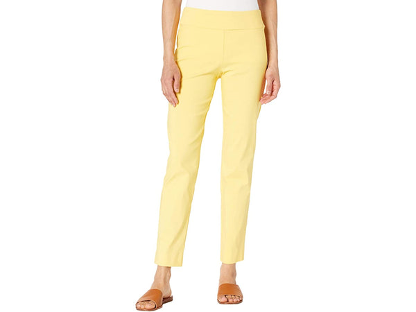 Krazy Larry Pull On Ankle Pant - Yellow